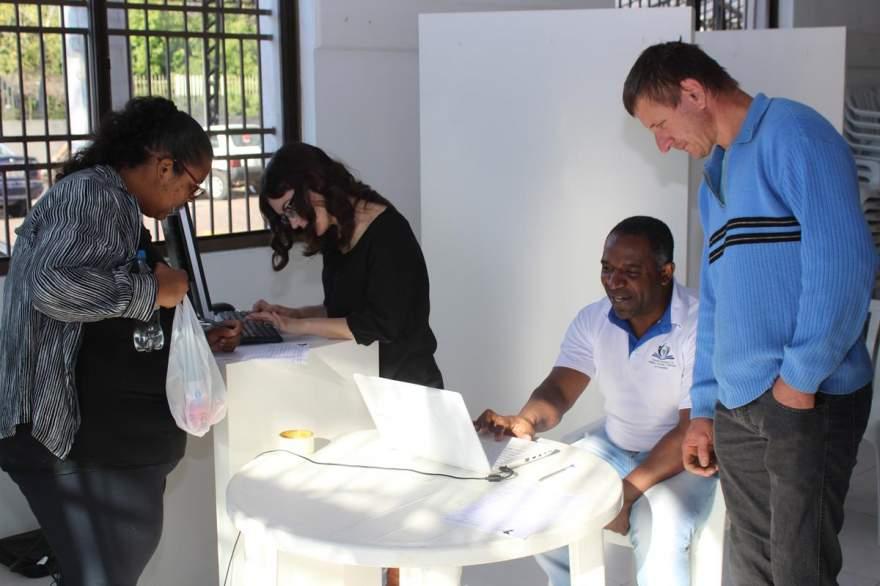 Além de servir como ponto de captação de votos, Casa de Cultura funciona como central de mobilização
