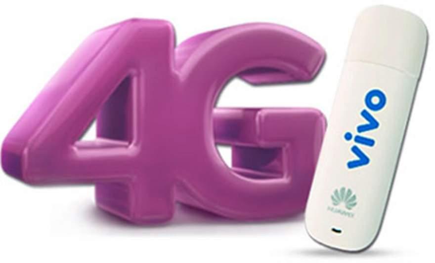 A cobertura 4G permite acesso à internet em altíssima velocidade