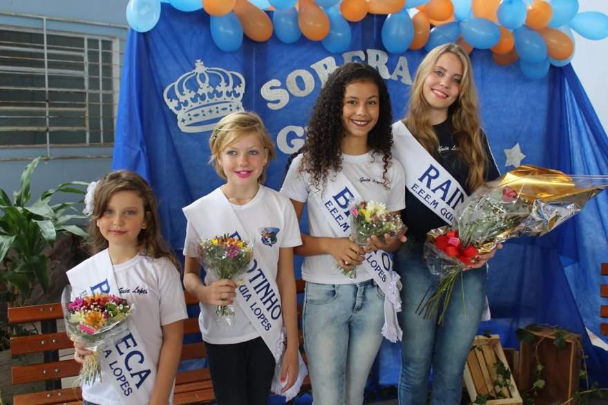 As vencedoras: Yasmin, Thais, Júlia e Imaê