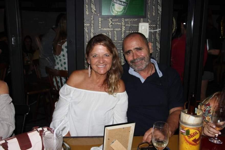 Lisete Gewehr e Celestino Pires Gomes de Sá