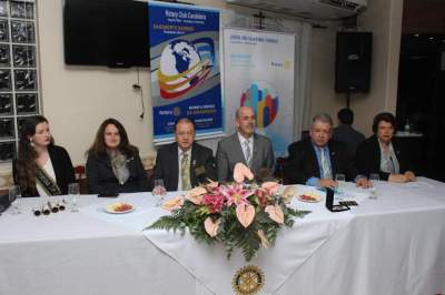Sessão solene marca troca de comando no Rotary Club de Candelária