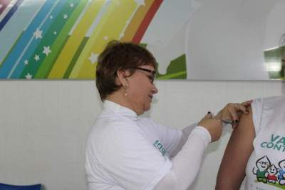 Um sábado de mobilização nacional de vacinação contra a gripe