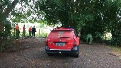 Corpo de rapaz desaparecido é localizado em buscas na tarde de sábado