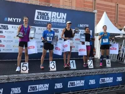 Sabrina Ritzel de Almeida vence 10 km feminino em Porto Alegre