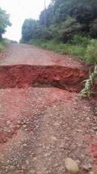 Estradas da Linha Brasil e Sesmaria do Cerro estão interditadas