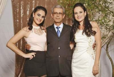 Milena, Nelcindo e Cíntia Vargas  (Fotos: Karnopp Fotografias)