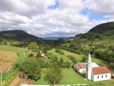 Vista atual da localidade do Quilombo