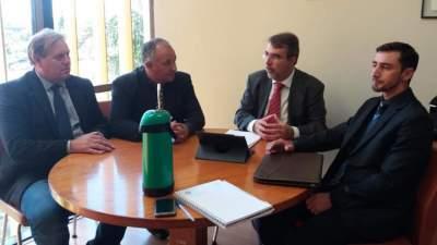 Henrique Fontana visita Novo Cabrais nesta terça