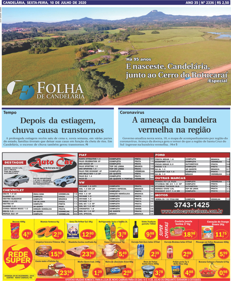 Jornal Semanal Folha de Candelária