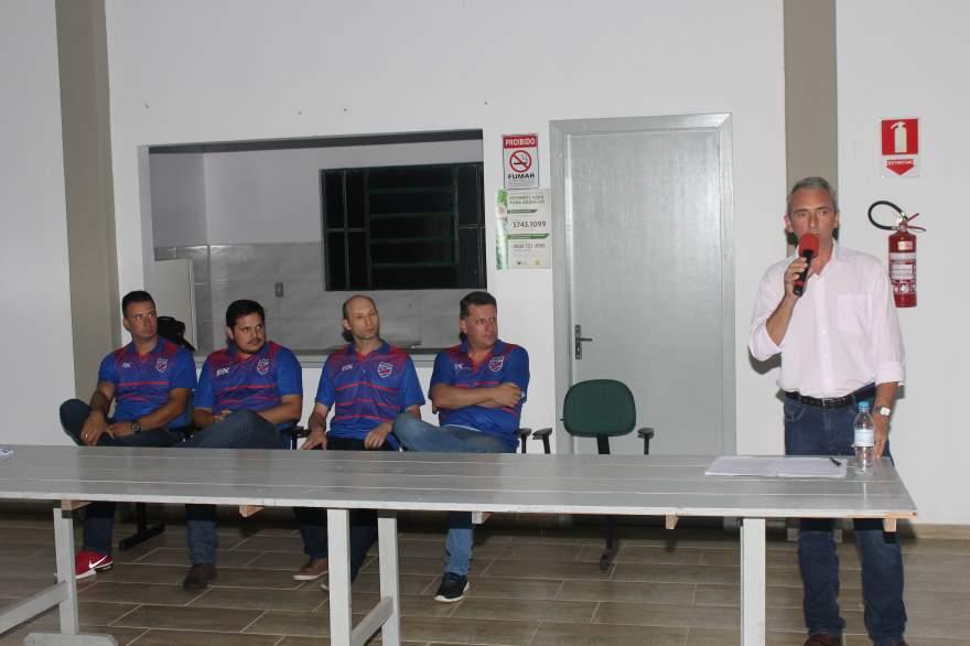 Prefeito Paulo Butzge desejou sucesso ao Atlético na disputa do Estadual