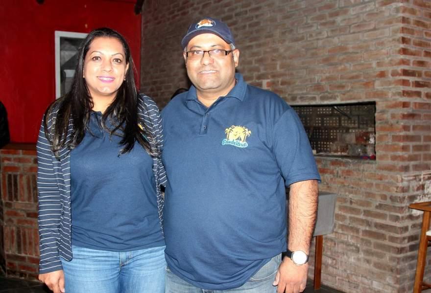 Os ecônomos Cláudia e Luis Fernando Barbosa