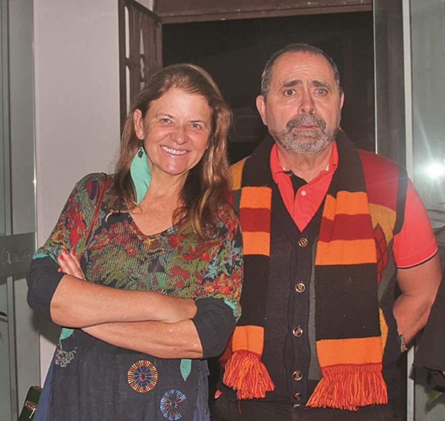 Lisete Gewher e Celestino Pires Gomes de Sá