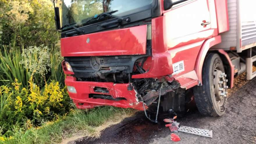 Condutor do caminhão, com placas de Lajeado, não teve ferimentos