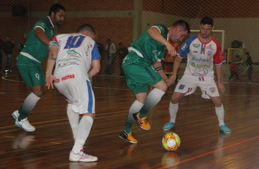 Atlético 6 a 1 Três Coroas Futsal