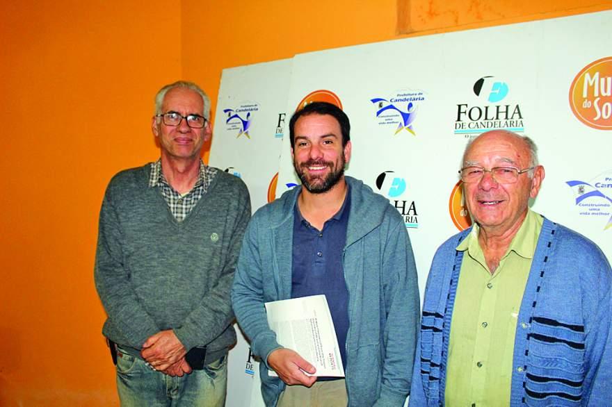 Carlos Rodrigues, Agustín Martinelli e Belarmino Steffanello: