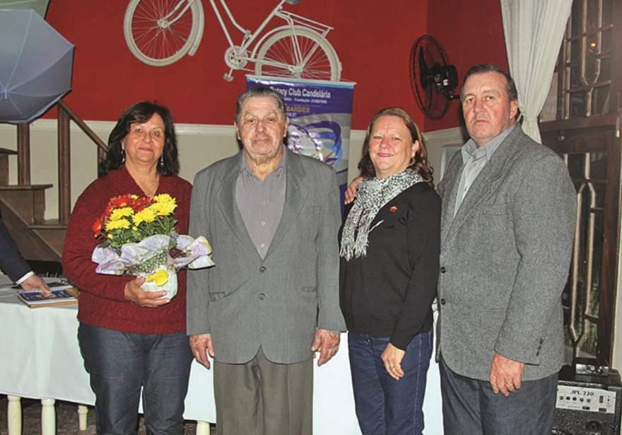 Maria Edy e José Pedro Menezes, Marlene e Nestor Mahl