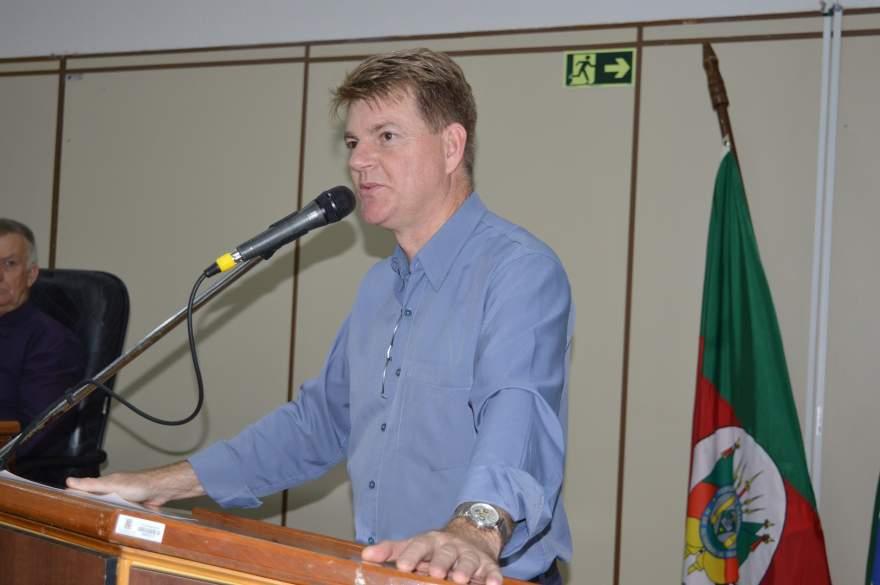 Vereador Cristiano Becker (MDB) é o autor do projeto de lei - Crédito: Divulgação Câmara de Vereadores