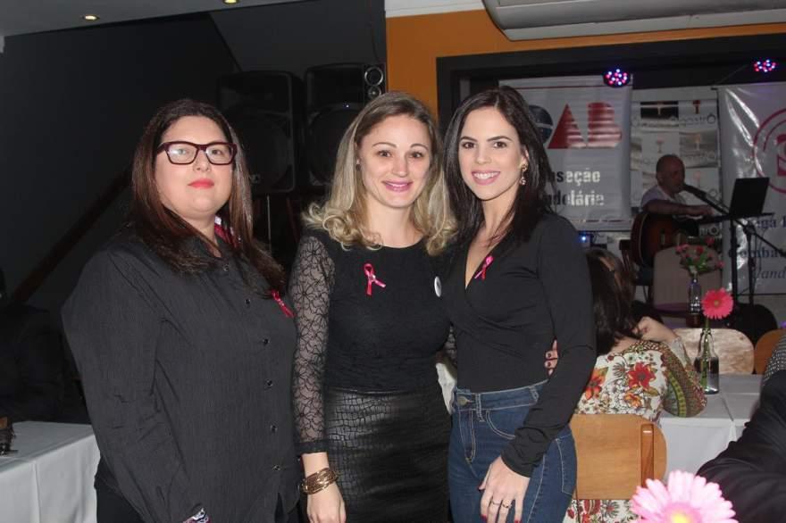 Isabel Dias Brixner, Juliana Gewehr e Milena Voese Ferreira