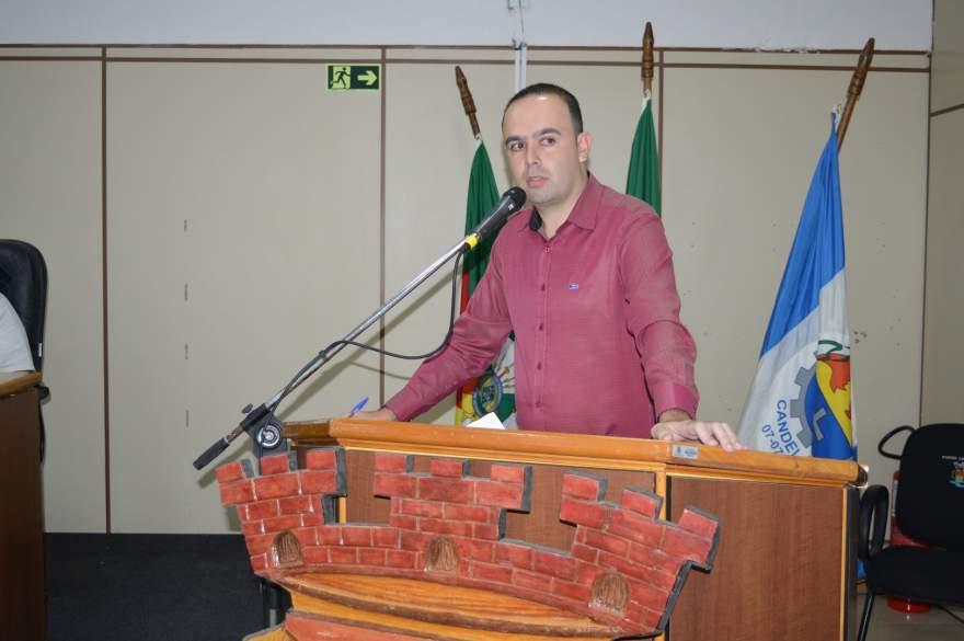 O autor do projeto que virou lei é o vereador Jorge Willian Feistler (PTB) - Crédito: Divulgação Câmara de Vereadores