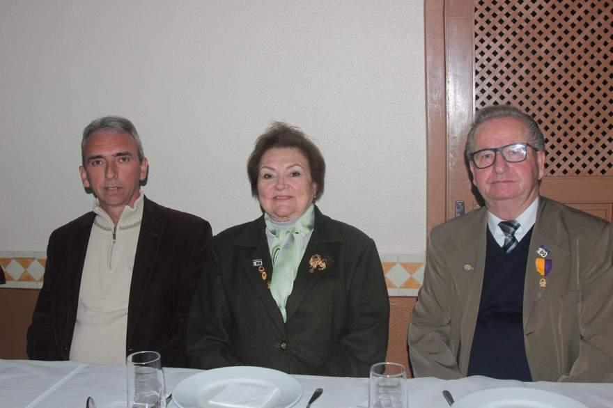 Paulo Butzge com o ex governador , Odilo e Vera Wacholtz