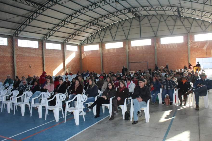 Público prestigiou a palestra sobre saúde do homem e da mulher rural