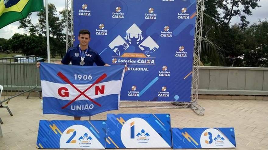 Mauricio Scota integra a equipe paralímpica do Grêmio Naútico União, de Porto Alegre