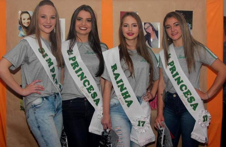 Caroline, Isabel, Giovana e Andressa: as novas soberanas do Lepageg