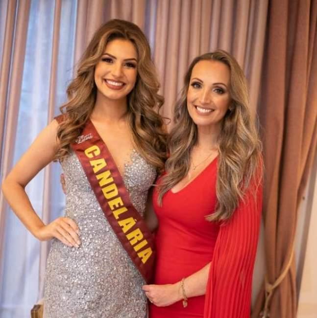 Priscila Moraes e Lê Oliveira