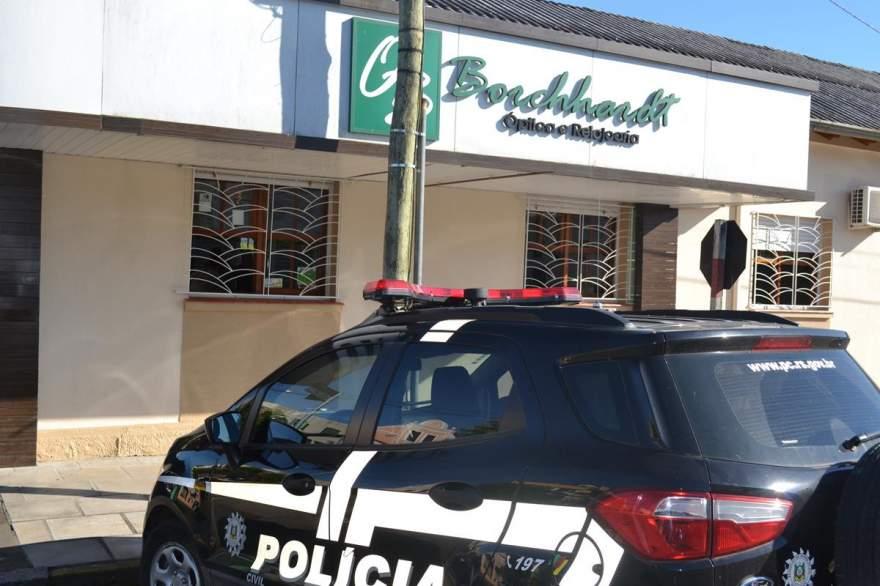 Polícia Civil de Candelária irá investigar o caso (Foto: Diego Foppa • Folha)