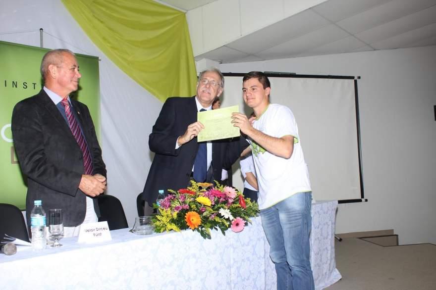 A entrega dos certificados