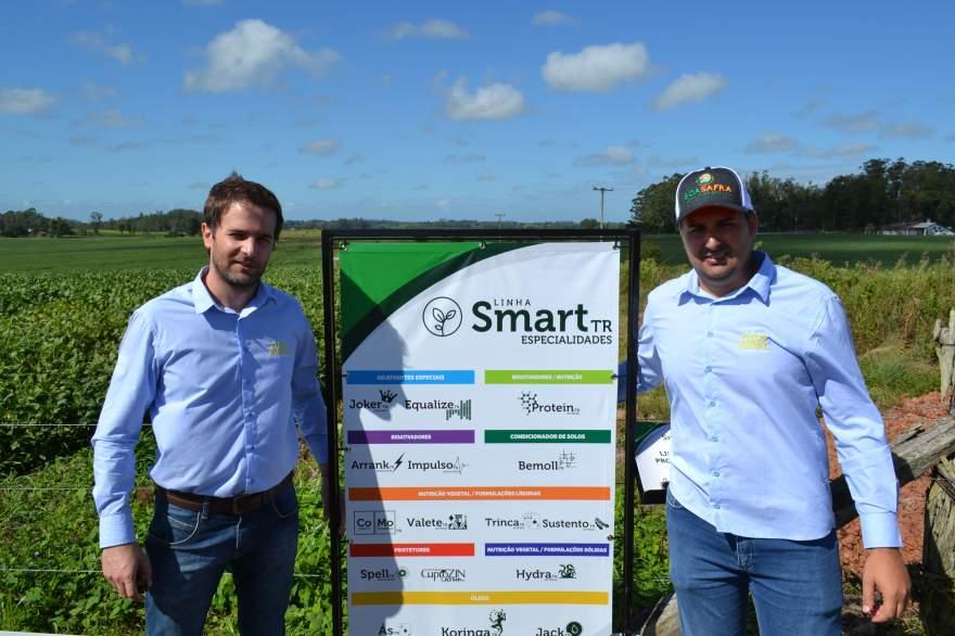 Representantes da Tudo Rural apresentam linha de produtos Smart TR de alto desempenho para aplicação nas lavouras