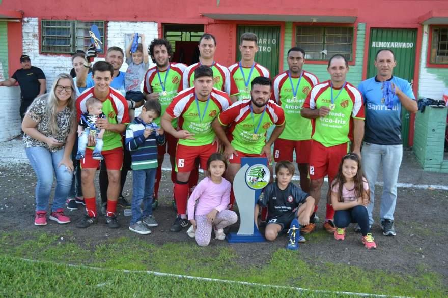 Novo São João A conquistou o título do Campeonato Municipal de futebol sete de Novo Cabrais
