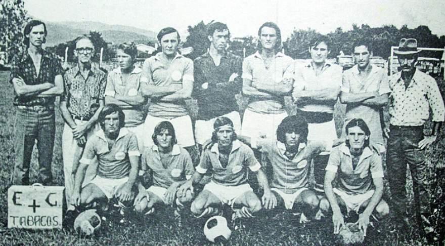 Tabacos, bi-campeão municipal em 1972