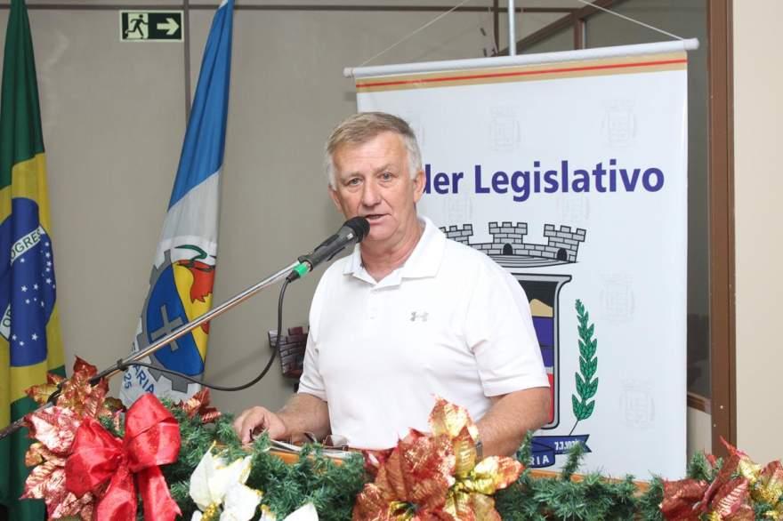 Marco Antônio Larger será o presidente em 2018