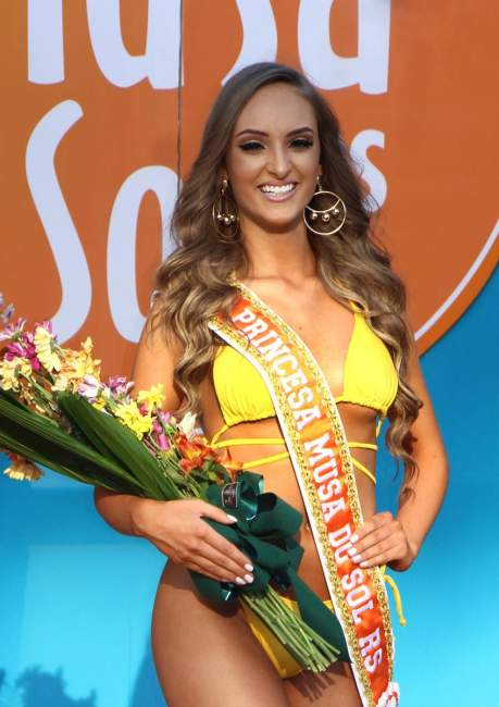 A princesa Emanuela Schuster de Santa Cruz do Sul