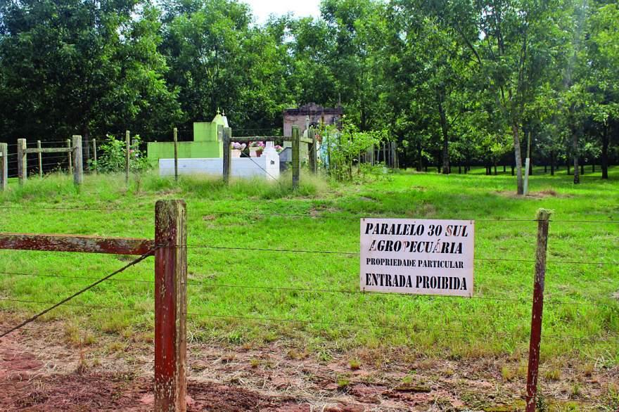 Moradores relatam que área onde está a empresa Paralelo 30 pertence a Candelária. Empresa confirma que área pertence para Cachoeira do Sul