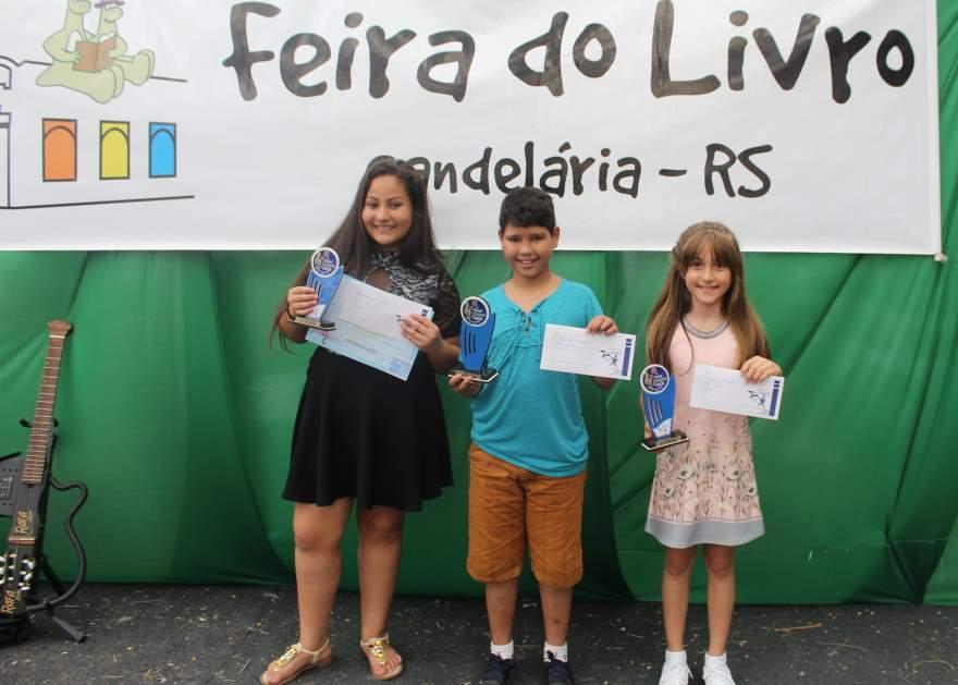 Luiza, Lyon e Isabelle: os vencedores da categoria mirim