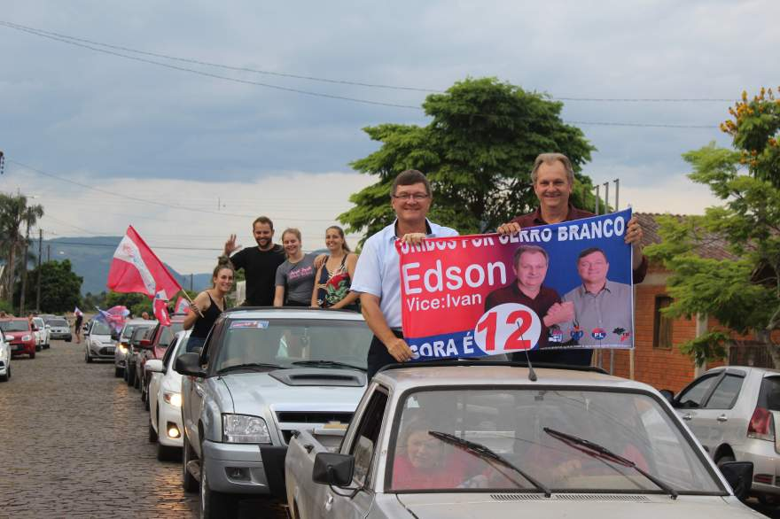 Edson e Ivancur conduzirão o município pelos próximos quatro anos