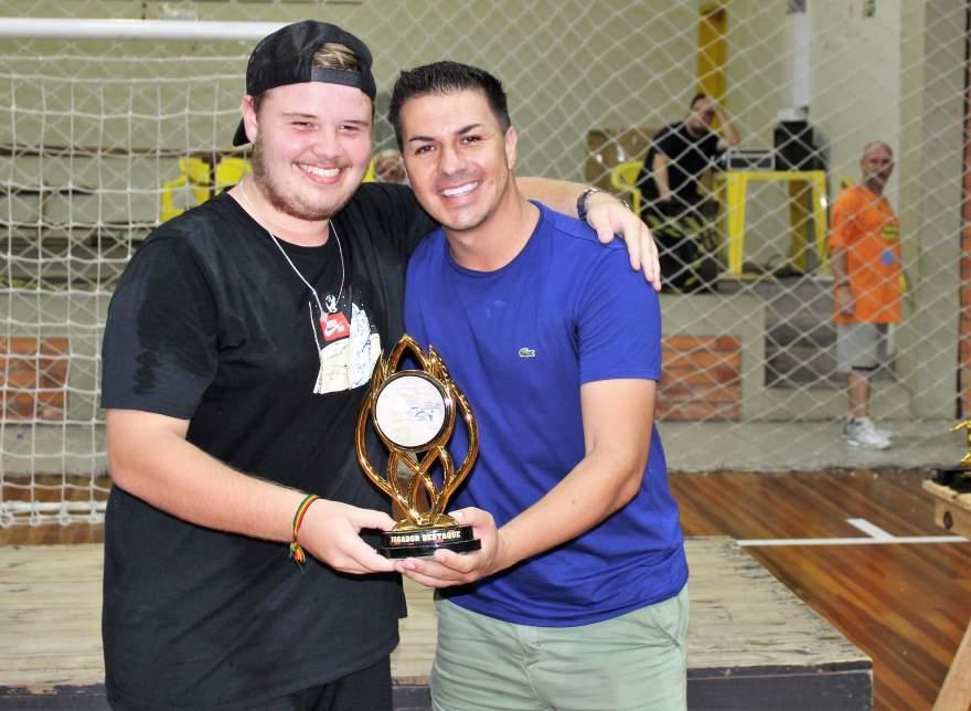 Guilherme Beise, atleta destaque do sub 17