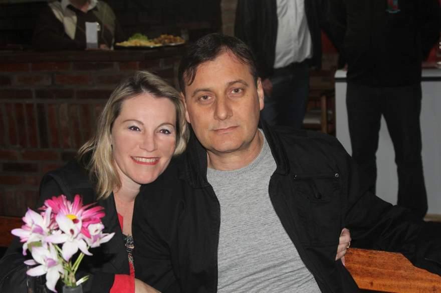 Fabiana e João Dalosto Porto