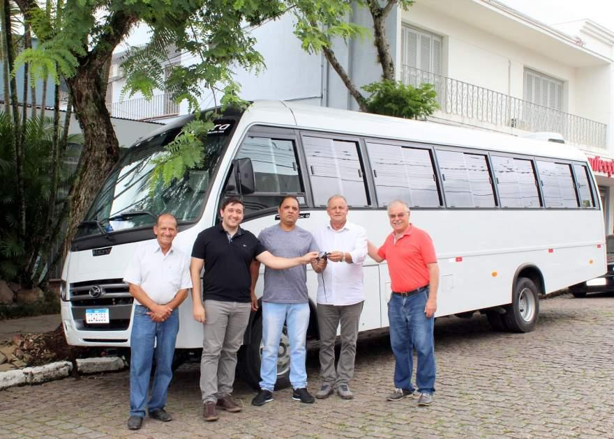 Gilvan, Dionatan Tavares, Cássio, Nestor Ellwanger e Bernardo Rizzi