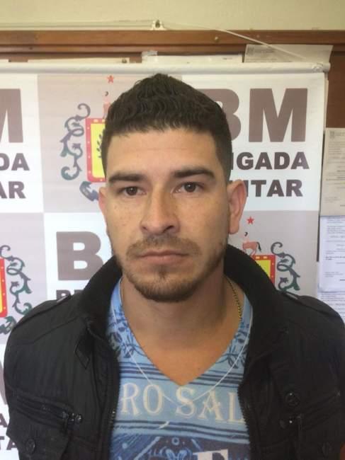 Valmor Ricardo dos Santos Melo: preso