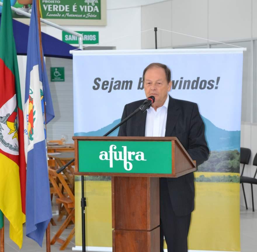 Romeu Schneider - Presidente da Agro-Comercial Afubra