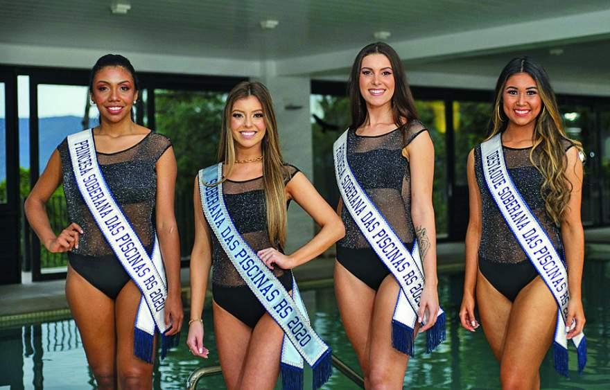As eleitas Tainara Machado, Anna Paula Suhs, Pauline Stange e Grabriele Bredow