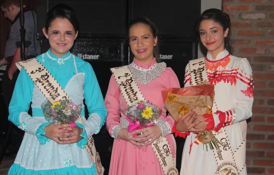 Juvenil Eduarda Azevedo da Silveira, Nicoly Gelsdorf de Almeida e Kamile Rodrigues de Moura
