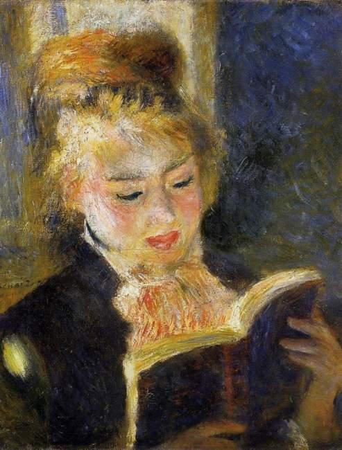Pierre-Auguste Renoir: A leitora, 1875