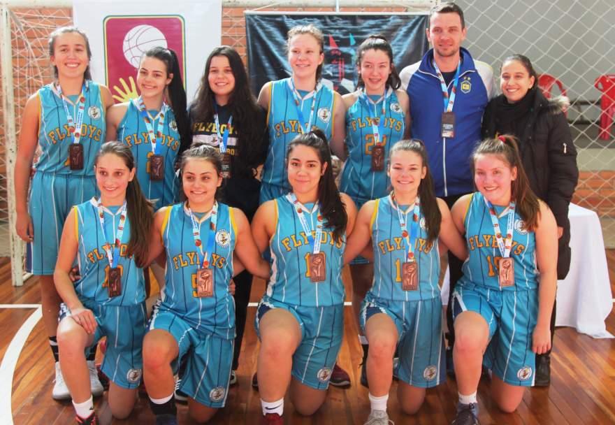 Flyboys termina em terceiro lugar no Sul-Americano de clubes de basquete