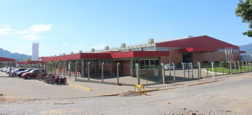 Imagem da fábrica da Beira Rio na cidade. Nova estrutura física deverá ser ao menos igual em área - Crédito: Odete Jochims - Folha