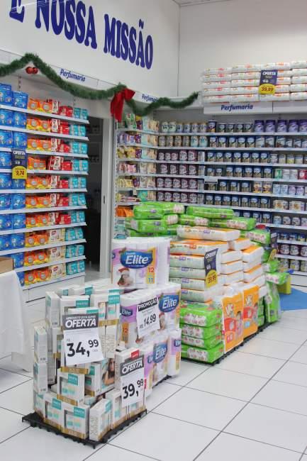 Loja conta com espaço ampliado com grande variedade de produtos