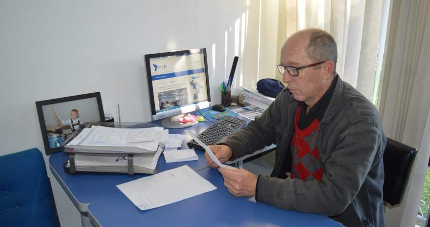 Presidente do Comude Candelária, Albino Gewher destaca importância da Assembléia Regional para definir as demandas a serem inseridas na votação